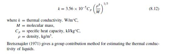 heat conductivity equation. new picture heat conductivity equation